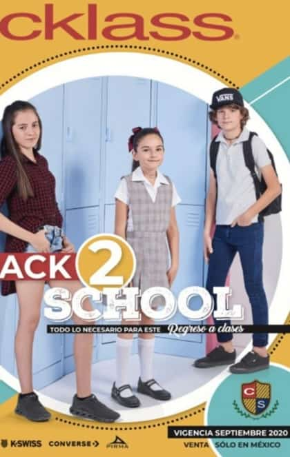 Catalogo Cklass back to school 2020 PV