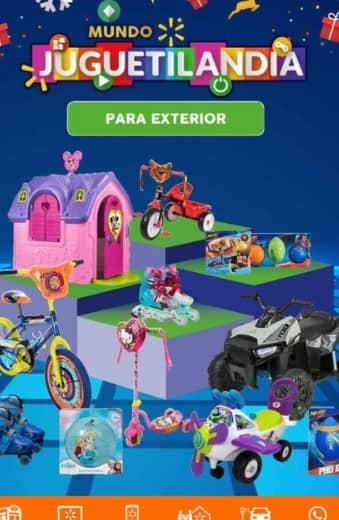 Catalogo Walmart juguetilandia exterior - octubre 2021